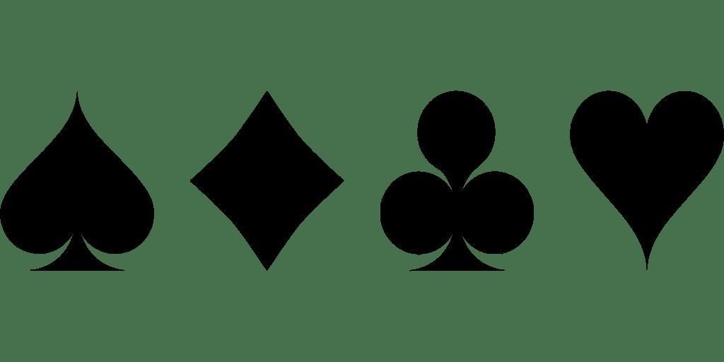 Symbolen van zwarte kaarten | Blackjack