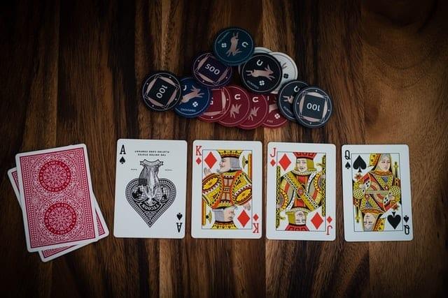 pokerkaarten en pokerchips | poker