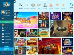 CrazePlay_Casino_Pagina_Lobby - crazeplay casino review