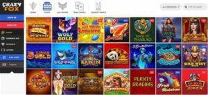 crazy fox casino spellen pagina - crazy fox casino review