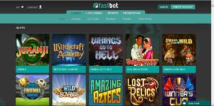 fastbet casino lobbypagina - fastbet casino review