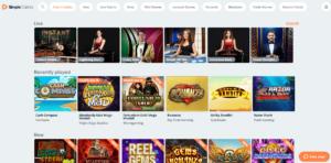 simple casino spellen pagina - simple casino review