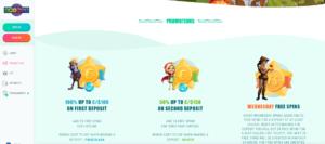 spinia casino promotiepagina - spinia casino review